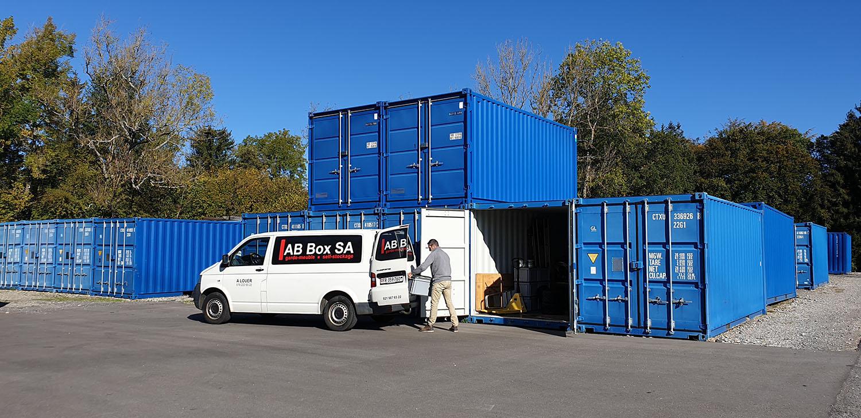 Container de stockage à louer